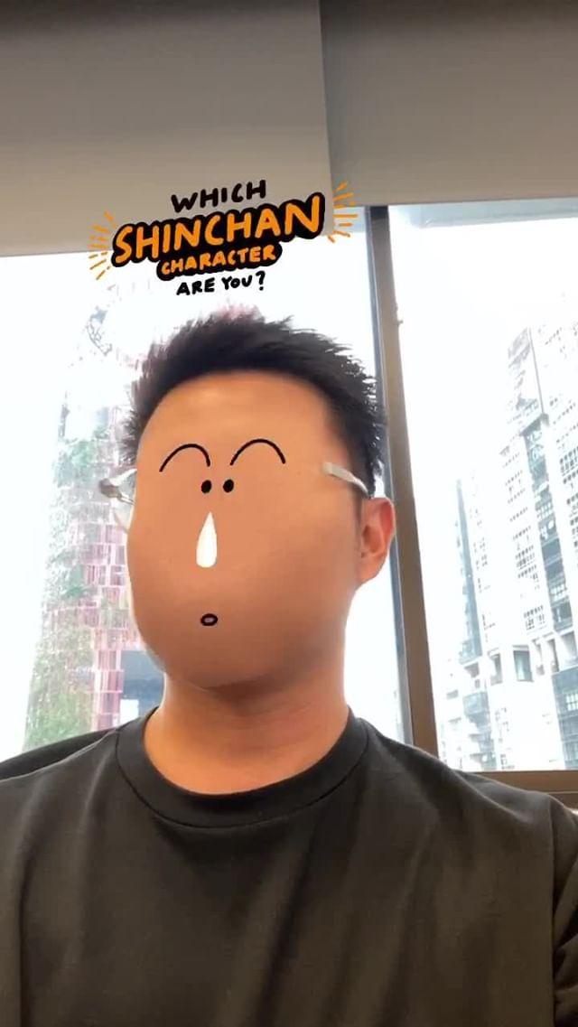Instagram filter whichshinchan