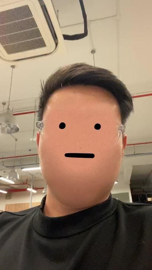 Instagram filter toonface