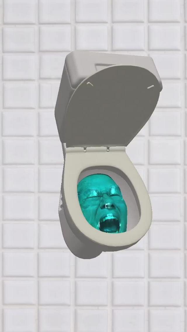 Instagram filter Toilet Bowl