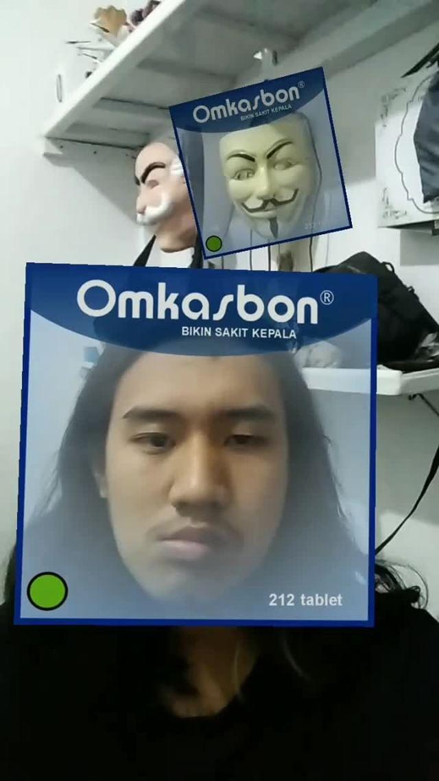 Instagram filter Omkasbon pancen oye!
