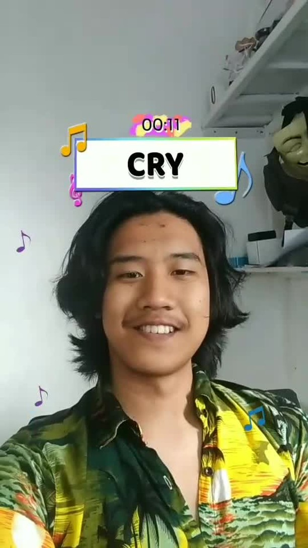 Instagram filter Sing A Song Quiz