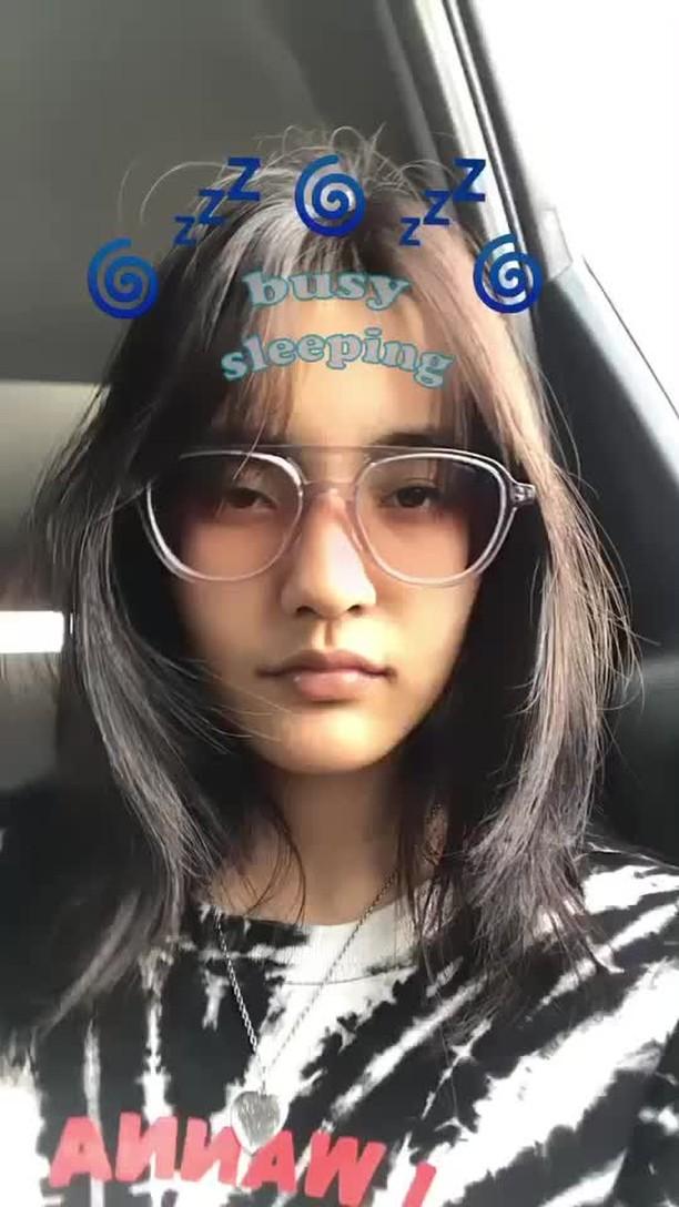 mondaymorningmill Instagram filter busy sleeping