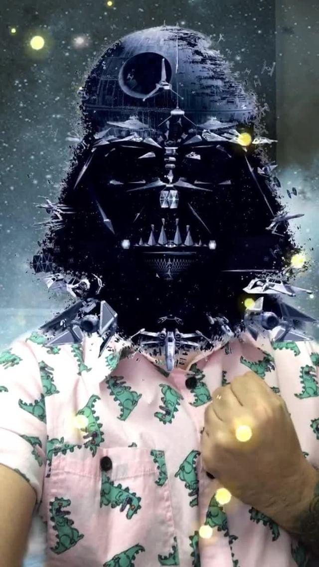 Instagram filter Darth_Vader