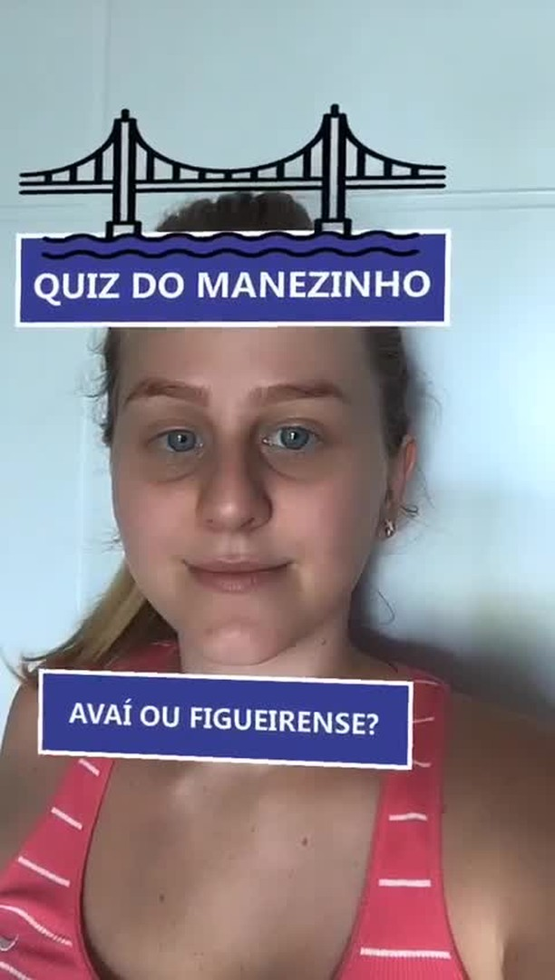 Instagram filter Quiz do manezinho