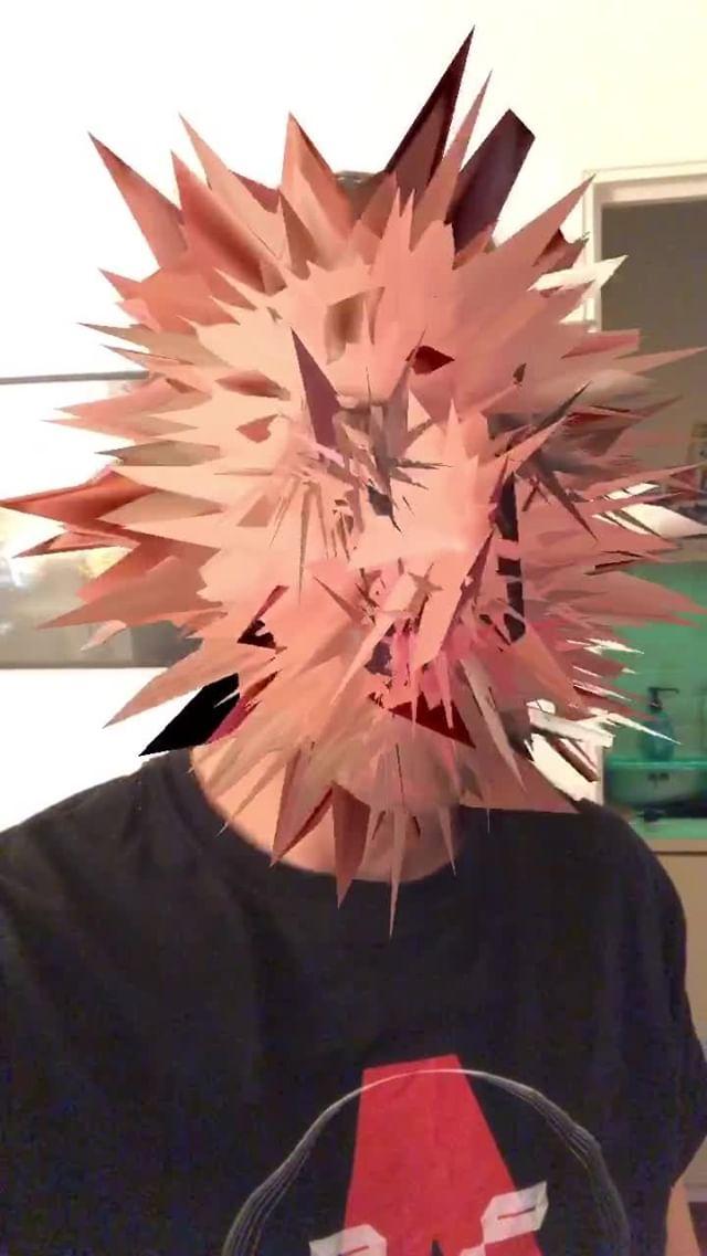 Instagram filter Mutant