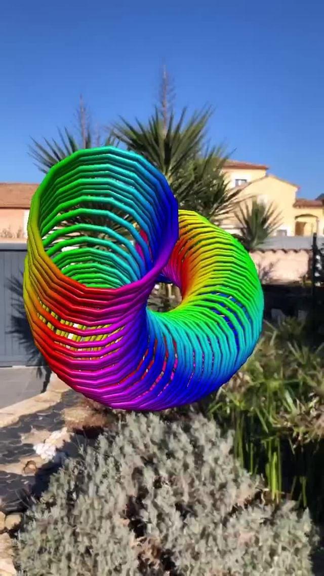Instagram filter Spiral Art