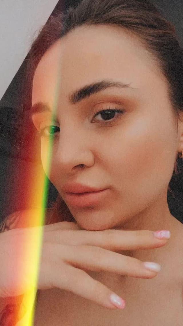 Instagram filter Retro rainbow