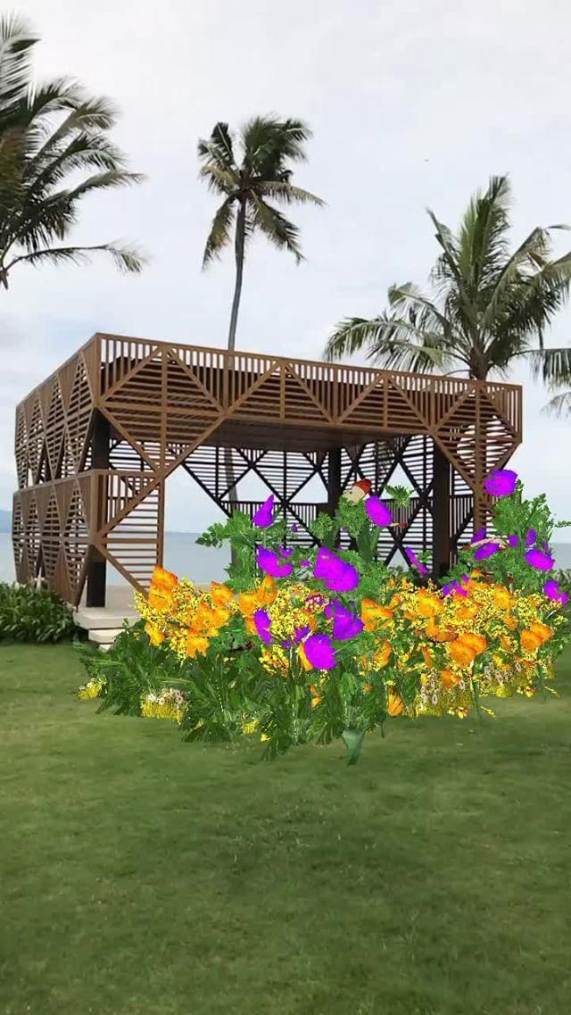 Instagram filter Florist