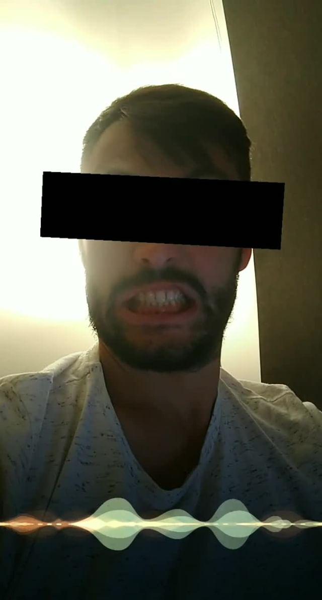Instagram filter Hide face