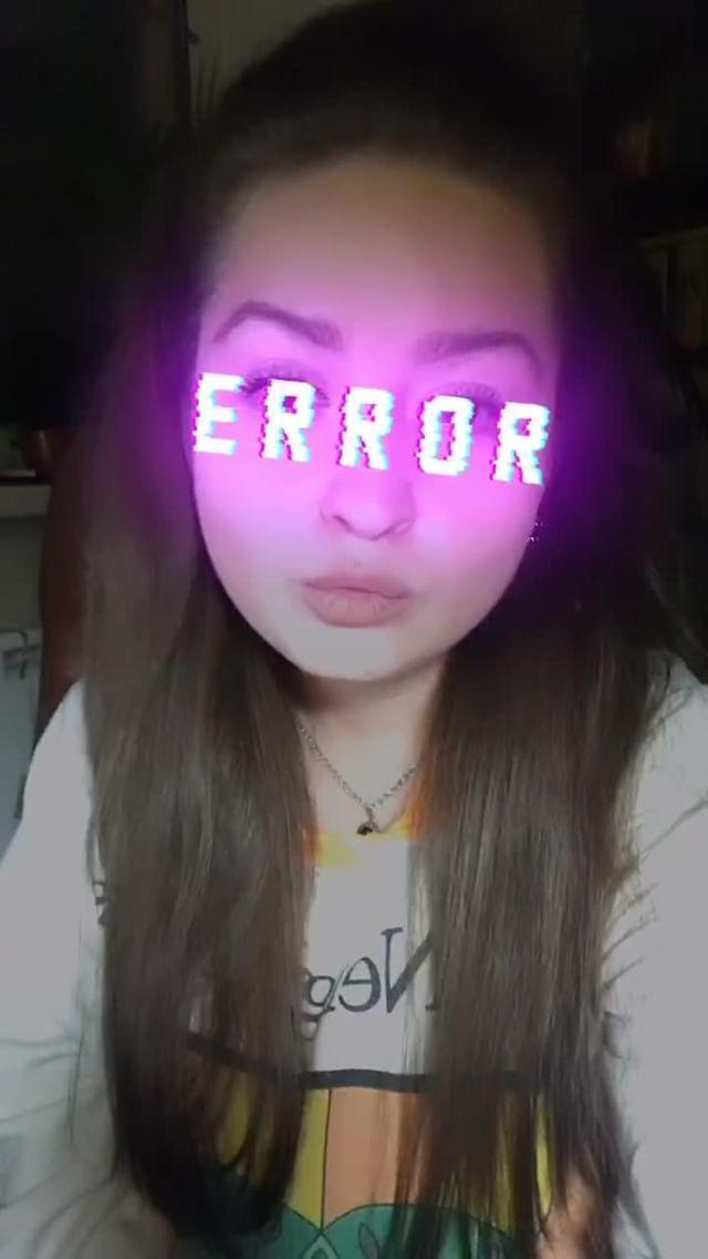 Instagram filter E R R O R