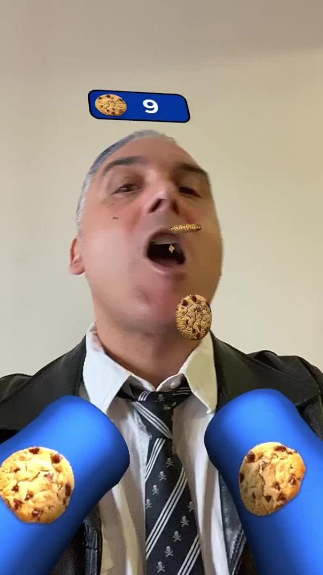 Instagram filter Cookie Cruncher