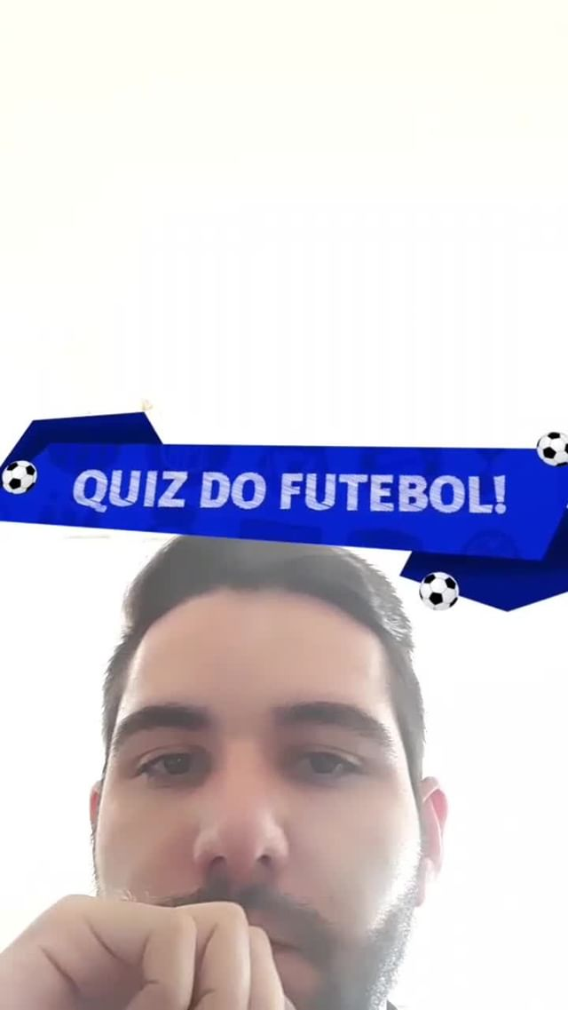 Instagram filter Quiz Futebol!