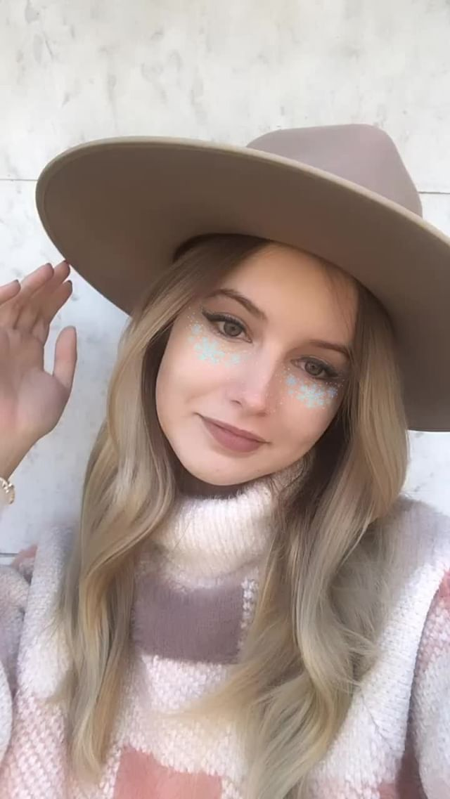 Instagram filter WINTER MAKEUP