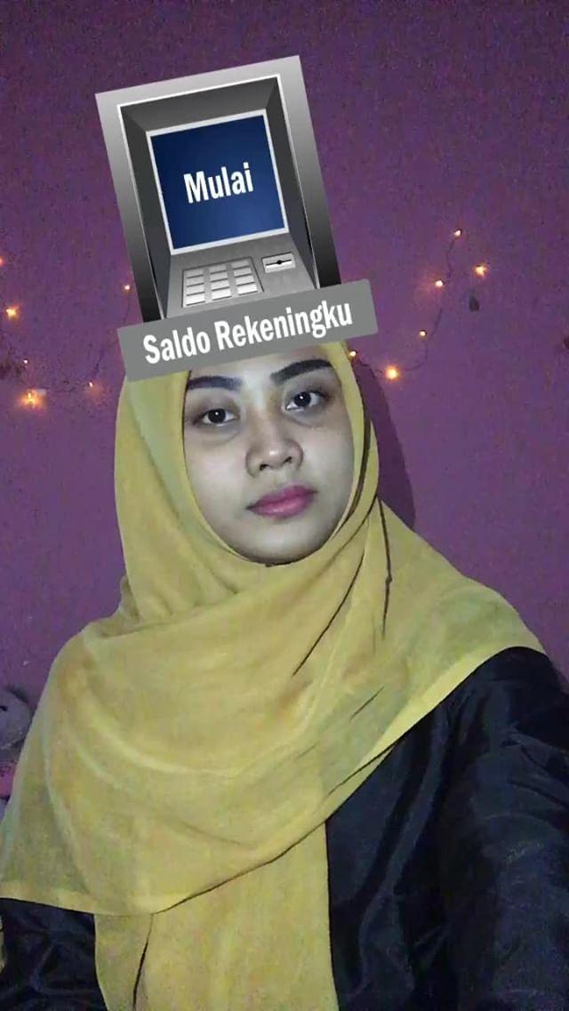 Instagram filter SALDO REKENINGKU