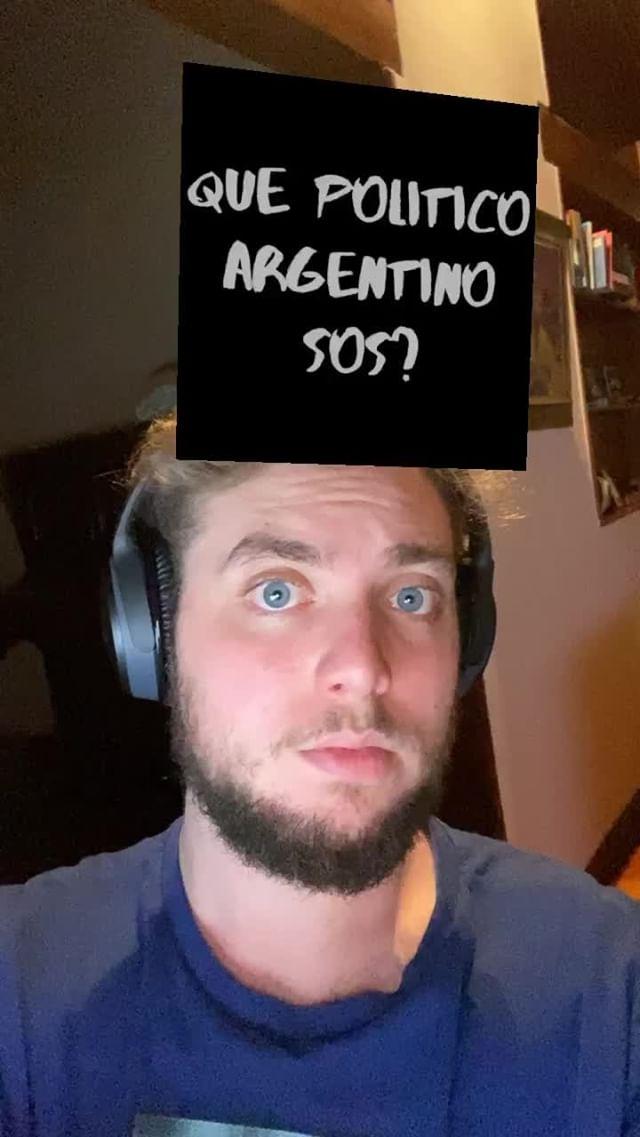 nicobilinkis Instagram filter Politicos Argentinos
