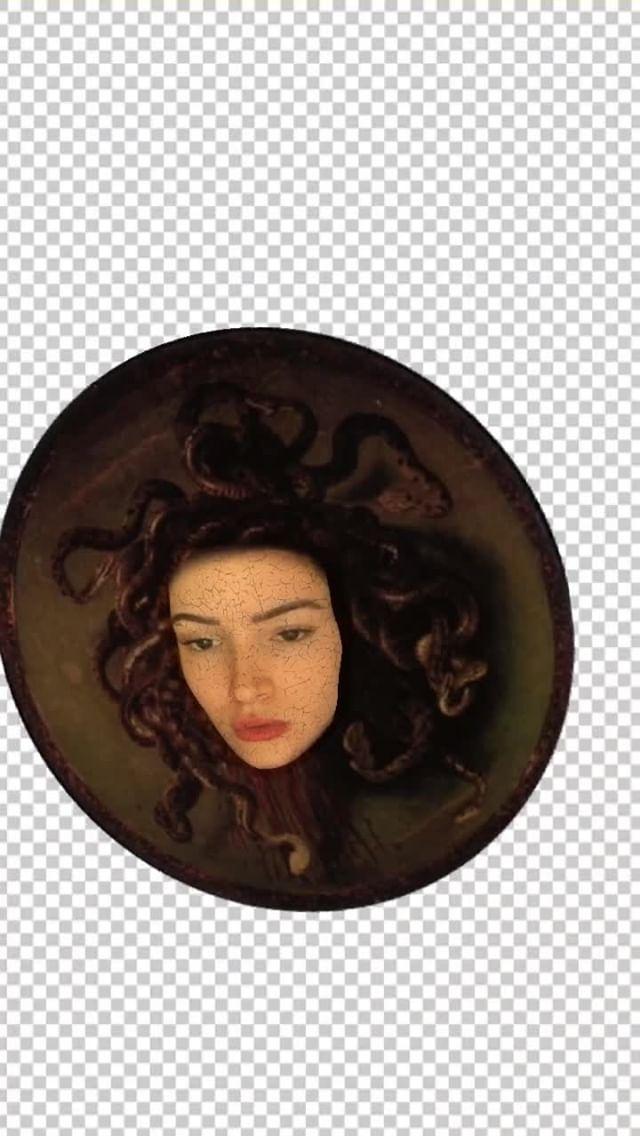 Instagram filter medusa