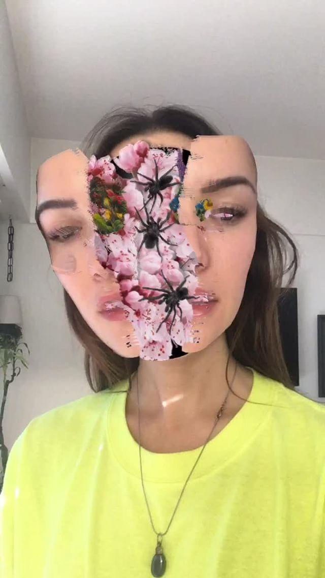 Instagram filter proyección