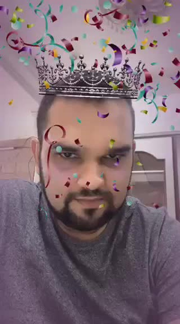 Instagram filter Royal Celebrations