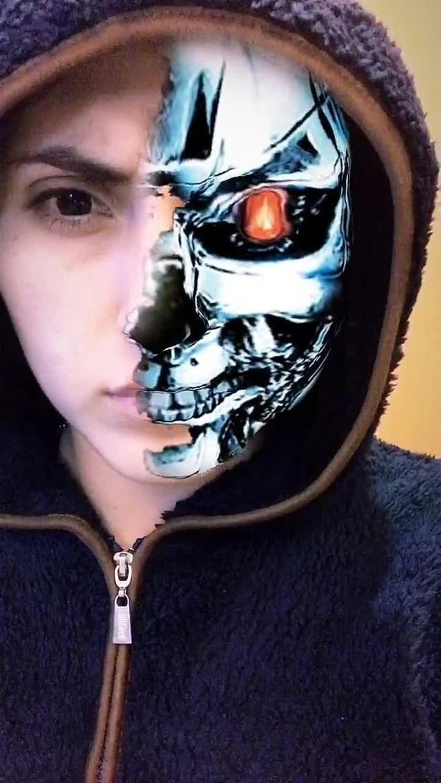 Instagram filter TerminatorMask