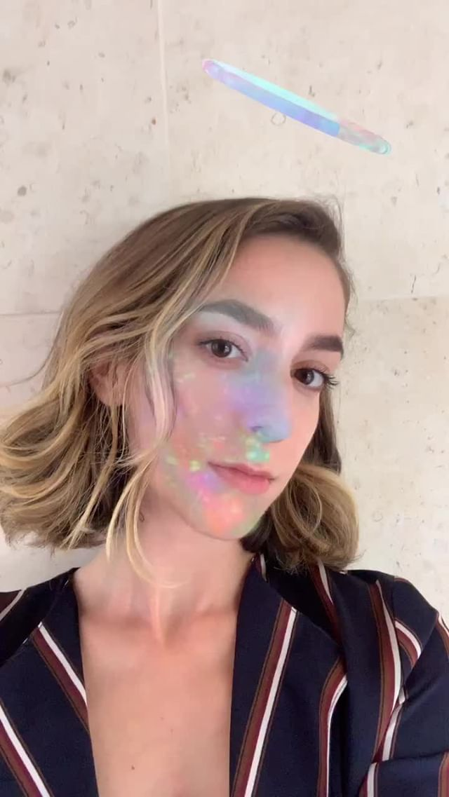 alexiszerafa Instagram filter glitch HALO