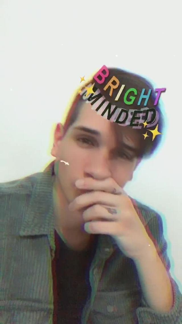 Instagram filter BRIGHT MINDED