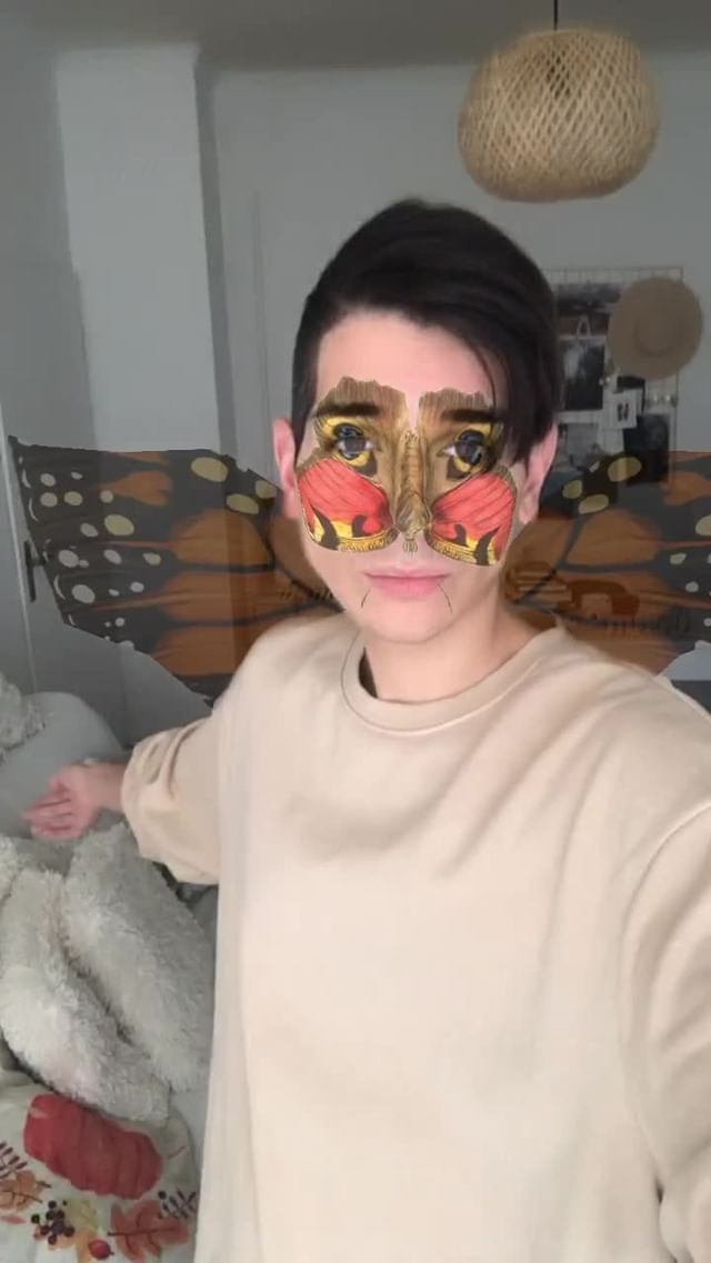 Instagram filter butterfly