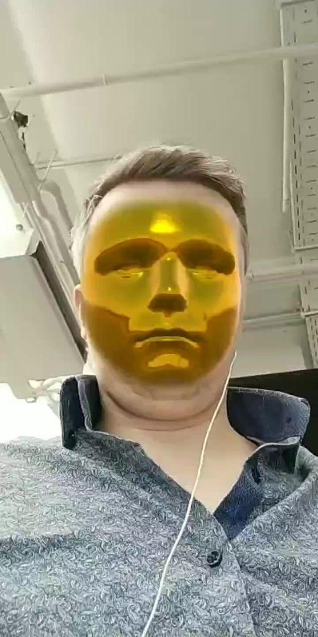 efimovpavel Instagram filter Golden Face