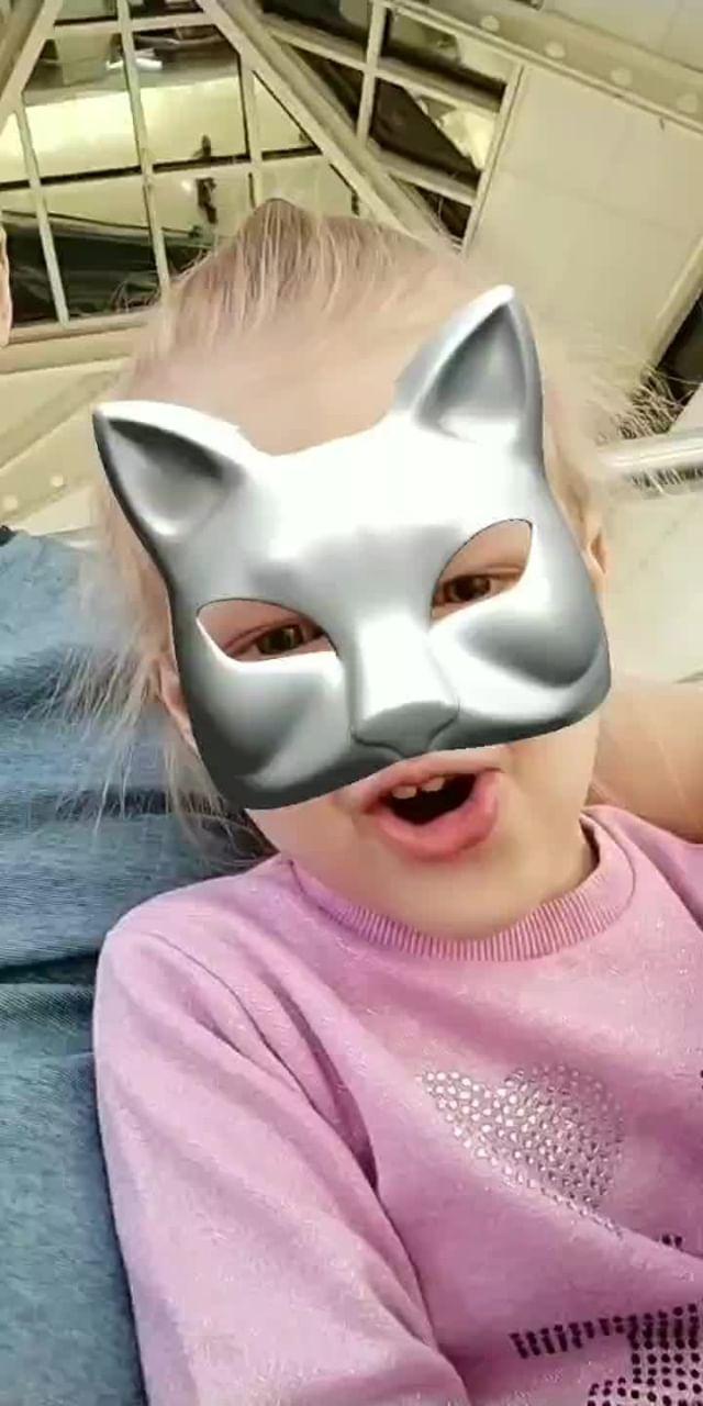 Instagram filter Cat Mask