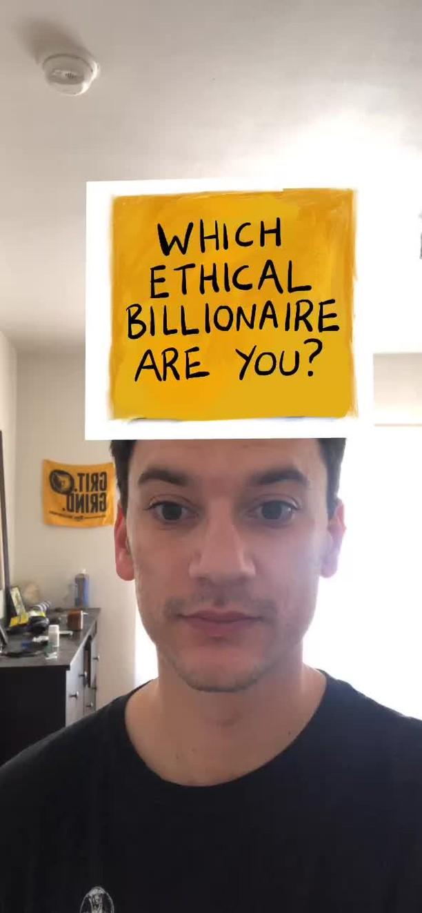 Instagram filter Which Billionaire??