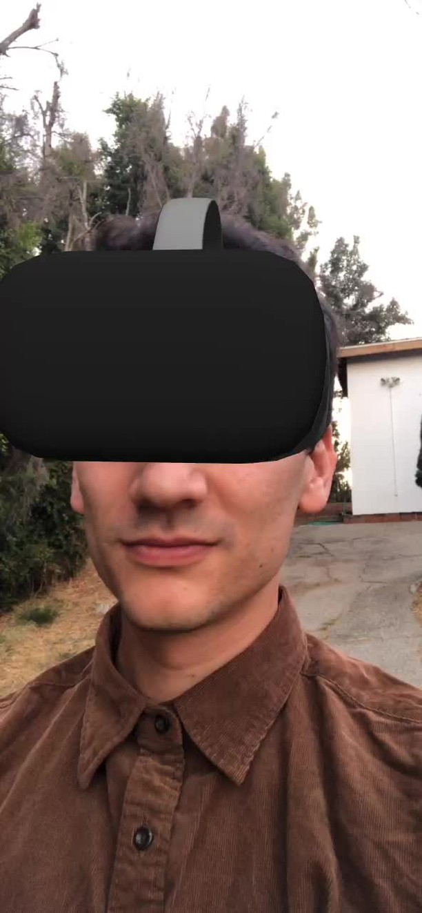 Instagram filter VR IS SICK