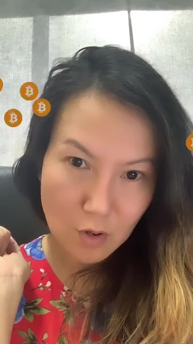 cryptomichelle Instagram filter Crypto Chatters