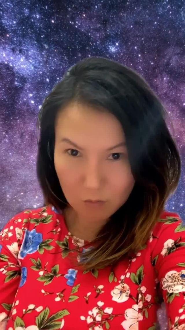 Instagram filter In the Milky Way