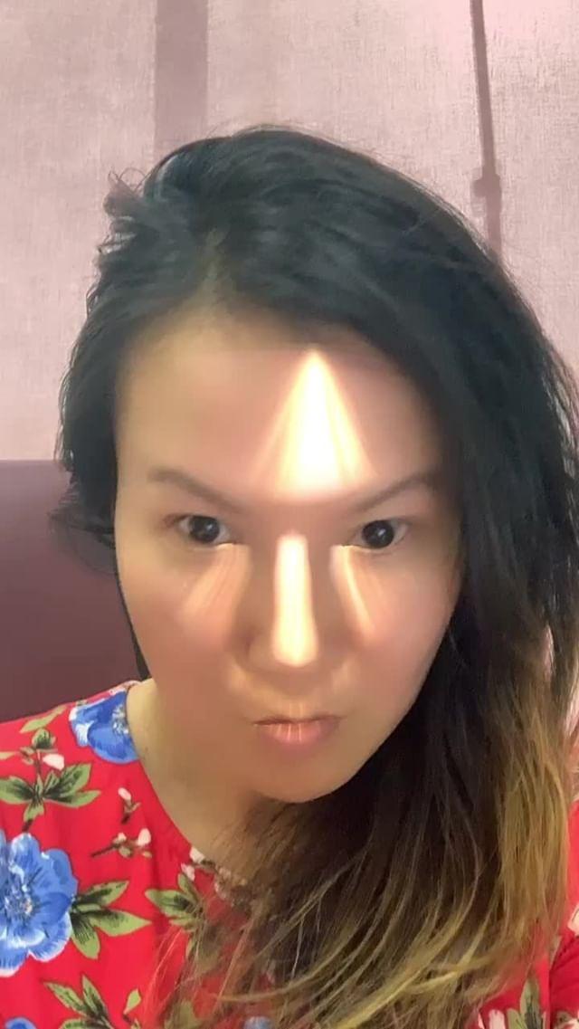 Instagram filter Light Beams