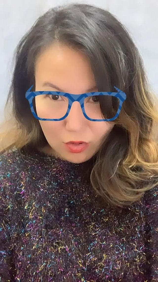 Instagram filter Floral Glasses