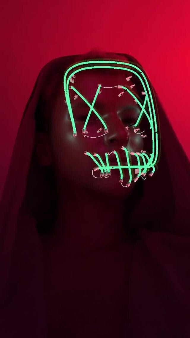 Instagram filter neon 2.0