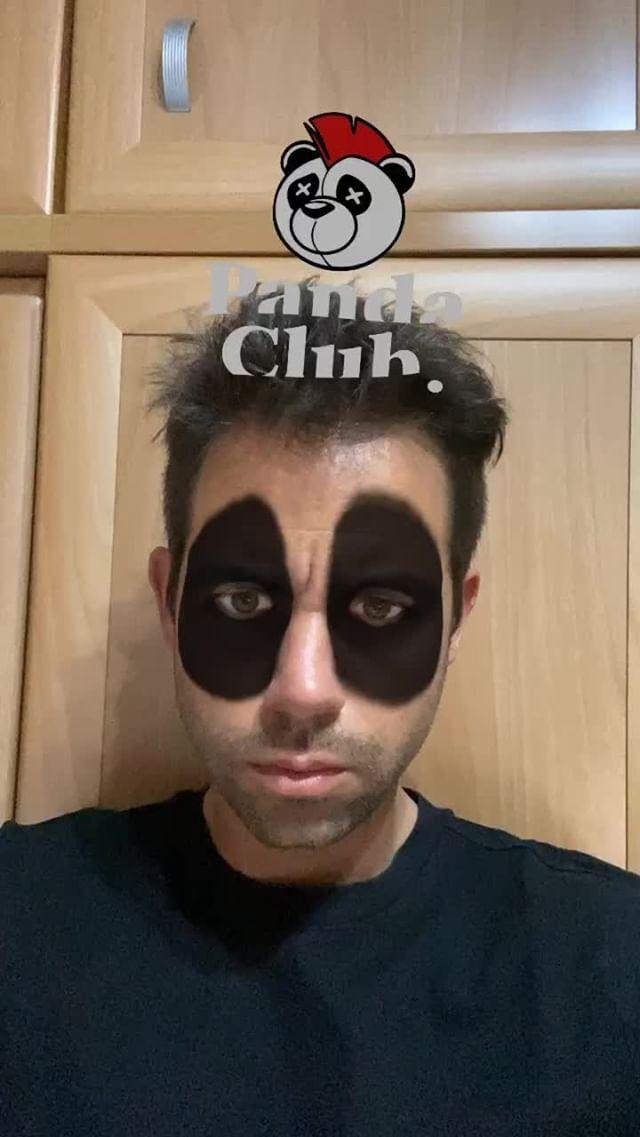 Instagram filter Panda Club Challeng2