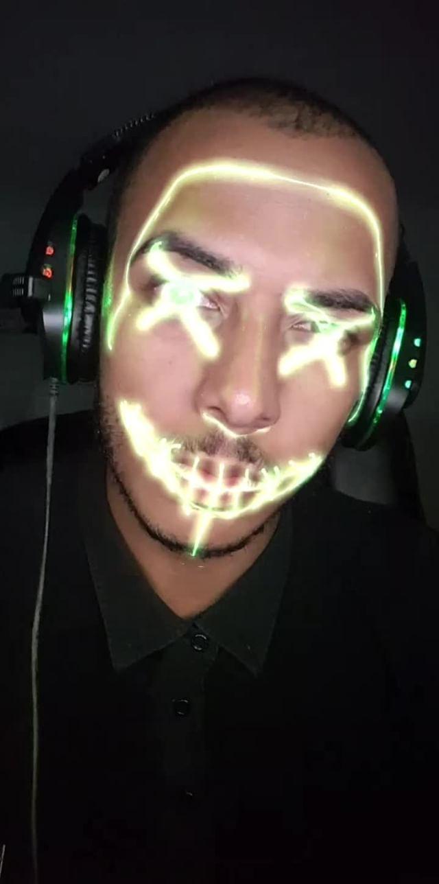 Instagram filter Purge Mask
