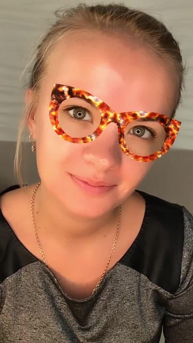 Instagram filter Leopard eyes