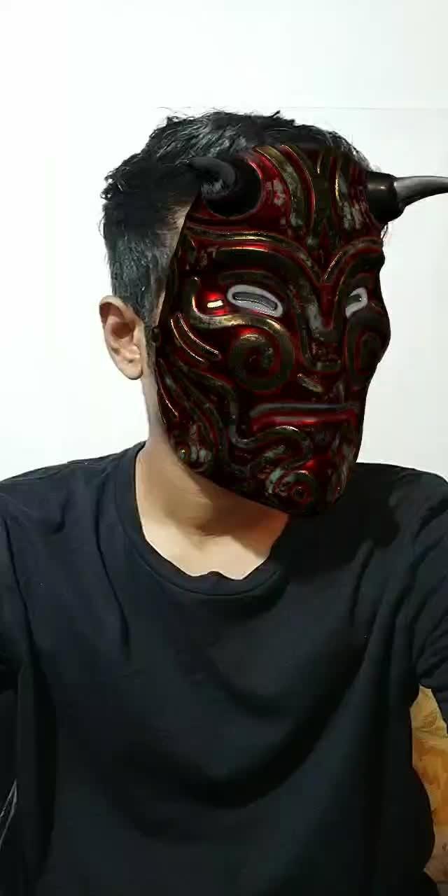 Instagram filter Tibetan Mask