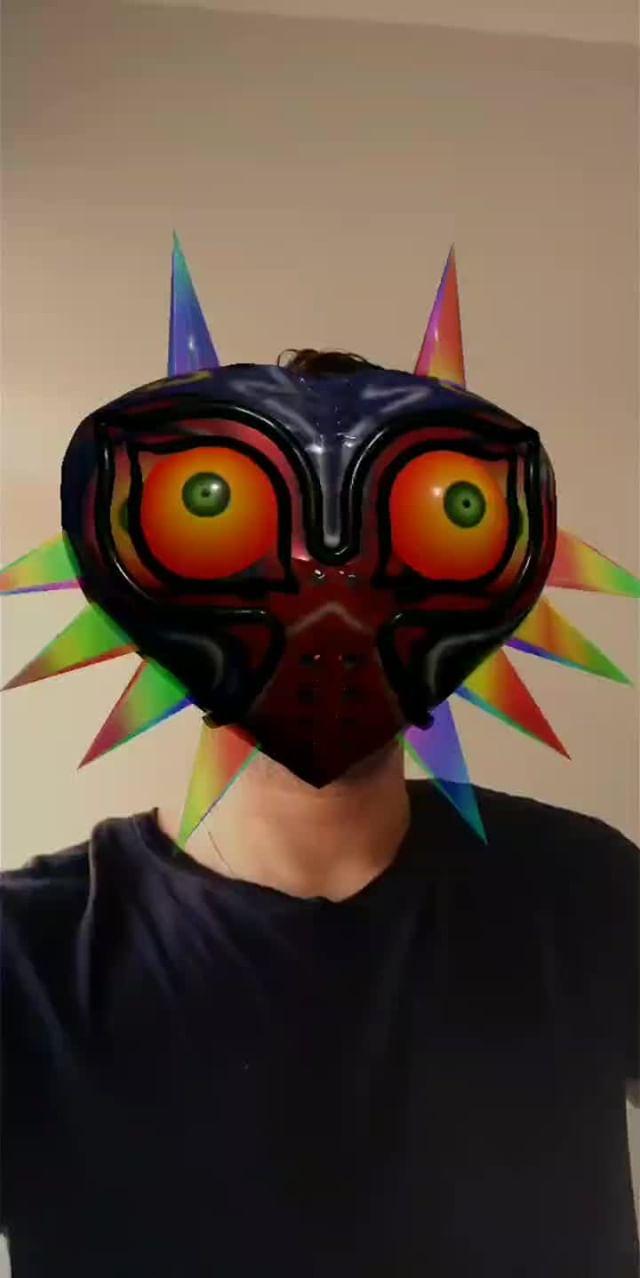 Instagram filter Zelda Masks