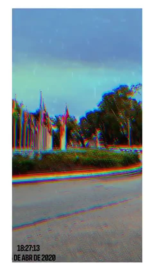 Instagram filter ** VHS GLITCH *