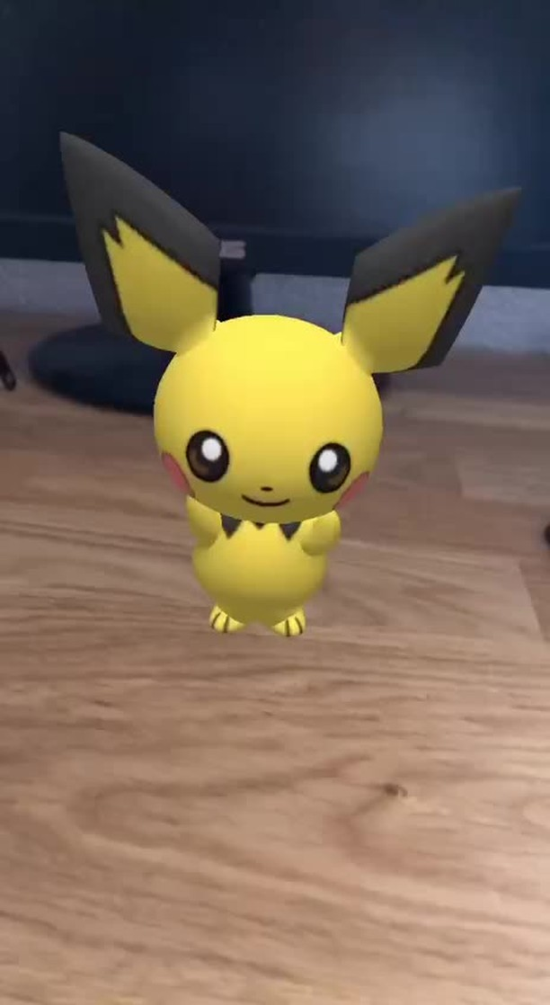 Instagram filter Dancing Pichu