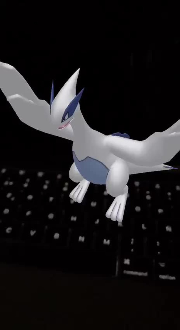 Instagram filter Dancing Lugia