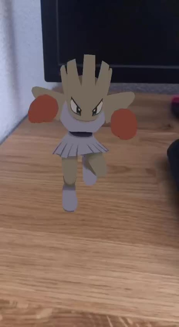 Instagram filter Dancing Hitmonchan
