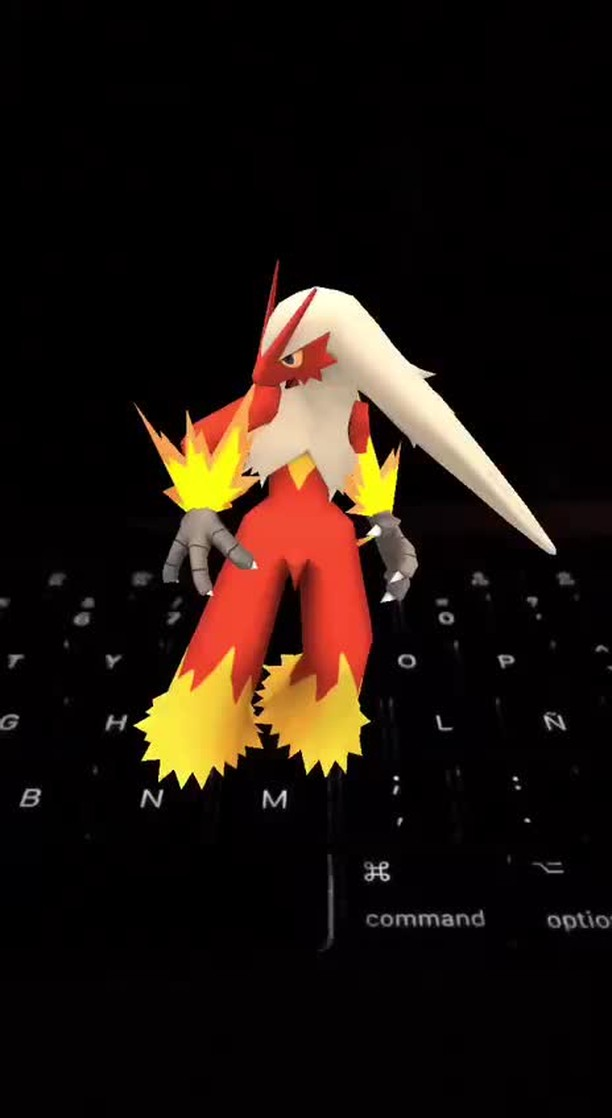 Instagram filter Dancing Blaziken