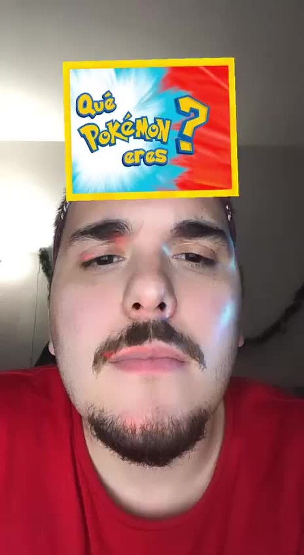 Instagram filter Qué Pokemon eres?