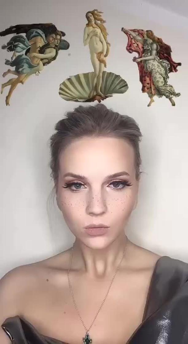 Instagram filter BERTH OF VENUS