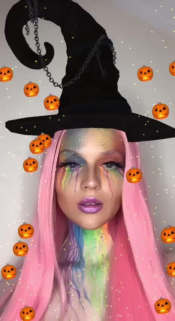 Instagram filter Halloween