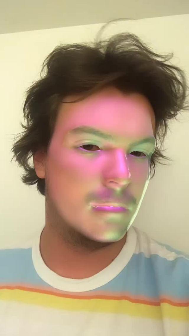 Instagram filter Metallic Face