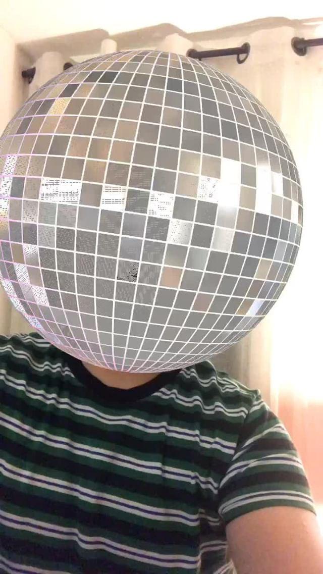 Instagram filter Disco Fever
